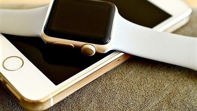 apple-watchとiPhoneSE