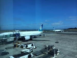 ニュージーランド航空の飛行機